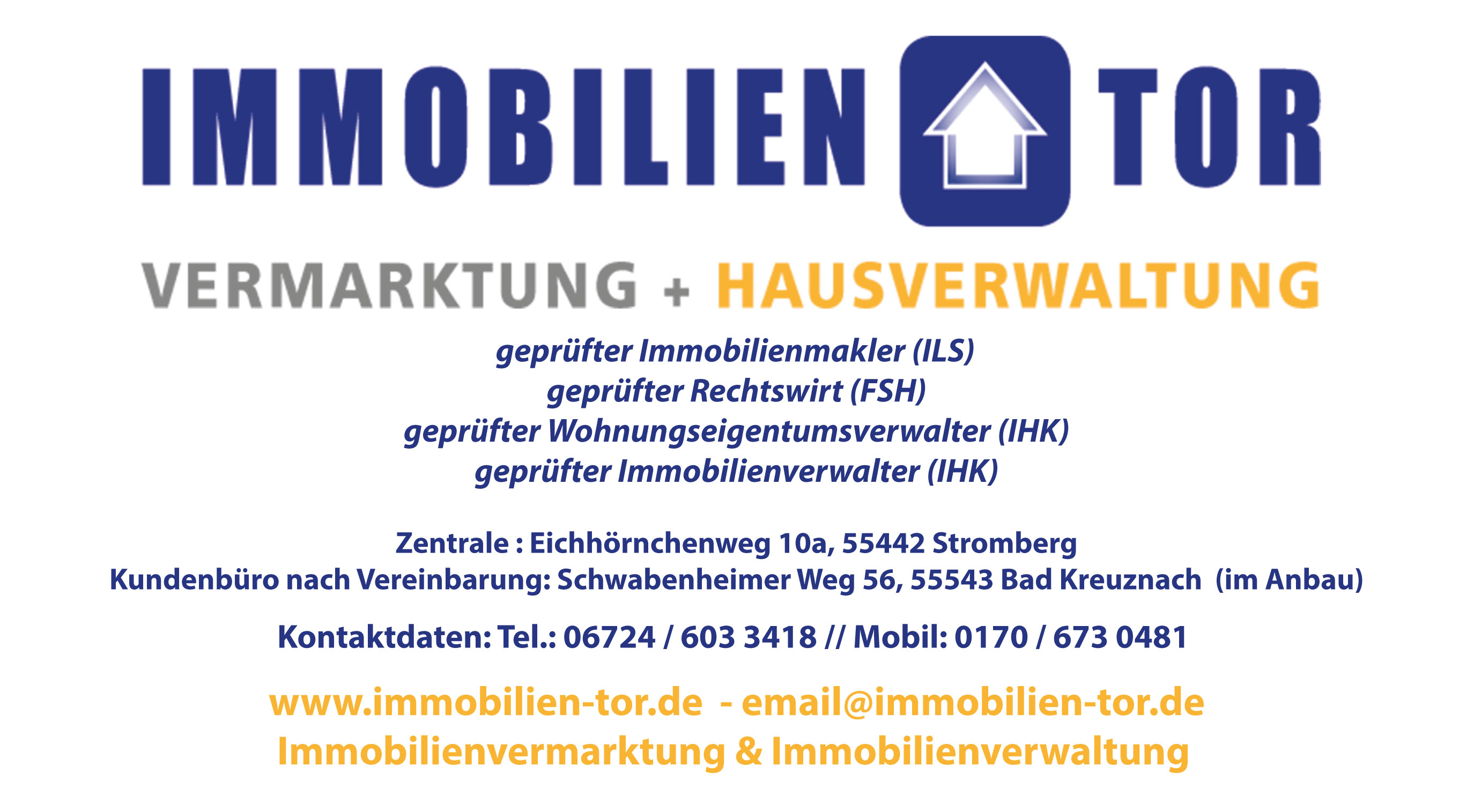 Immobilien Tor